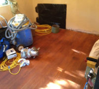 Wood floor refinishing gear