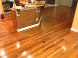 Screen And Tung Oil Recoat Red And White Oak Floors In Pvb