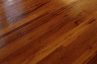 Red and White Oak wood floor, sanded and refinished with Tung oil