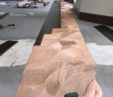 Installing hickory wood flooring