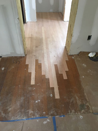 Installing solid red oak hardwood flooring avondale for Hardwood floors expansion gap