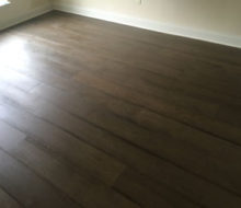 French Oak wood flooring installed