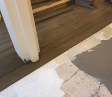 Installing French Oak wood flooring over leveled subfloor