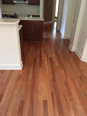 Pacific madrone wood flooring installation st augustine for Flooring st augustine