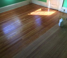 Refinishing old heart pine wood flooring