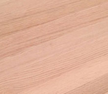 Sanded red oak wood flooring (detail)