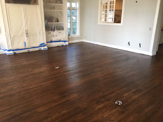 Replacing water damaged red oak flooring st augustine for Flooring st augustine