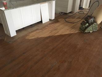 Red Oak Wood Floor And Stair Restoration Avondale