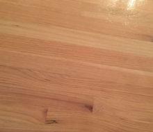 Applying Bona finish to whitewashed red oak wood flooring