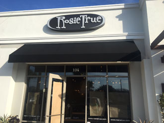 Rosie True boutique store front - south Jacksonville Beach