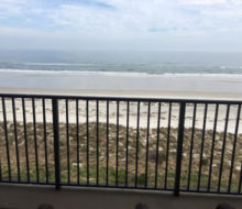 Atlantic Ocean view - Beachcomer condos