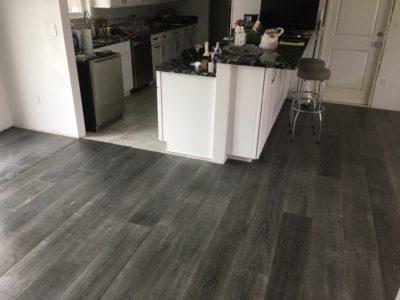 Beachy look white oak flooring installation davis shores for Flooring st augustine
