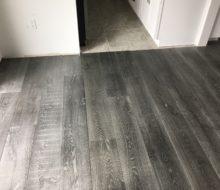 Beachy look White Oak flooring installed