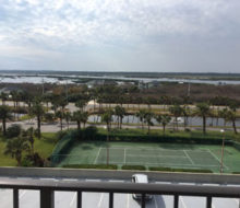Matanzas River view from Beachcomer condos