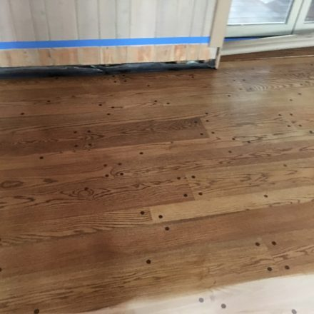 Hard Wood Floor Refinishing Before And After Hardwood
