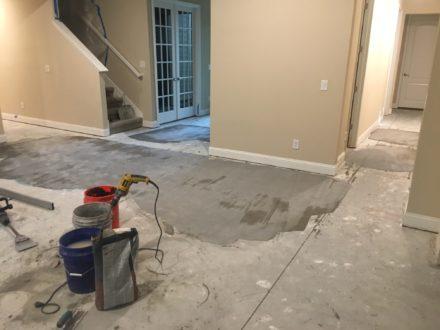 Engineered Maple Flooring Replacing Tile Palencia
