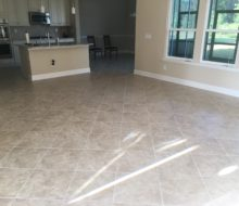 Original tile flooring in Palencia home