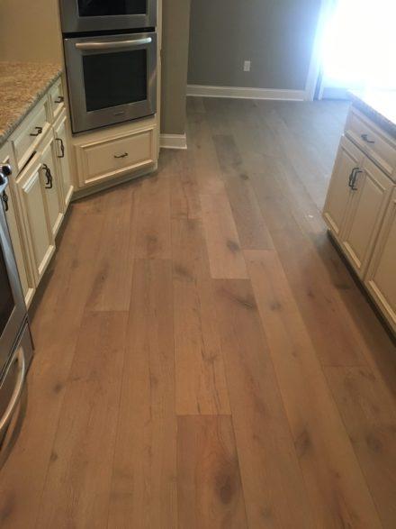 Wire Brushed Oak Hardwood Flooring Install St Augustine Fl