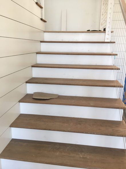 Character Grade White Oak Flooring Install Sand And