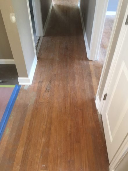 Red Oak Clear Grade Flooring Sand And Finish St