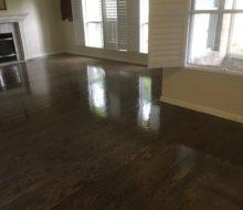 Finishing Red Oak flooring