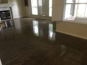 Finishing Red Oak flooring