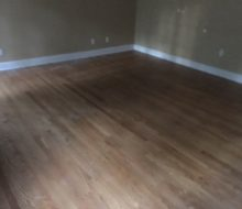 Sanded Red Oak clear grade flooring