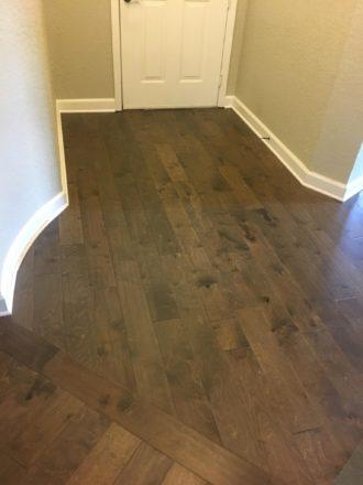 Birch Wood Flooring Install Palencia St Augustine Fl
