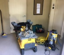 wood flooring gear for installation