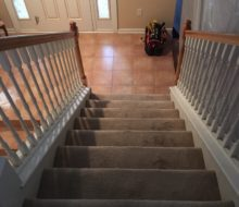 Carpeting on stairs to be removed