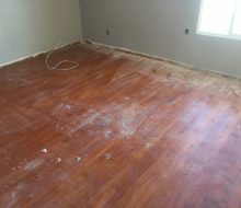 Old solid red oak flooring