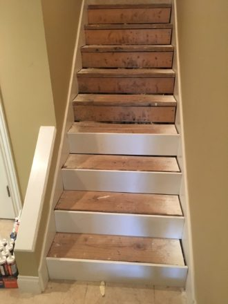 Installing Solid White Oak Stair Treads