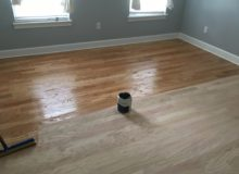 Refinishing peeled Red Oak flooring