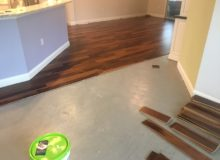 Installing Brazilian Pecan hardwood flooring