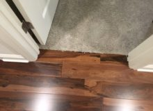 Installed Brazilian Pecan hardwood flooring