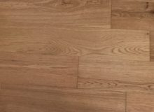Closeup - solid white oak wood flooring
