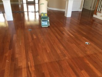 Finish American Cherry Flooring