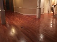 Refinished American Cherry flooring