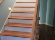 Refinished stairway