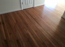 Repaired and refinished old Red Oak flooring