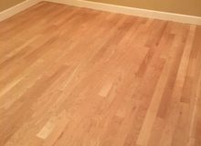 American Cherry flooring after 3 sanding passes