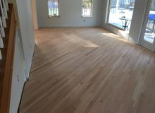 Sanding Red Oak flooring