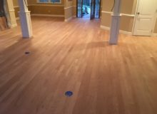 Sealed American Cherry flooring