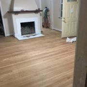 Applying Bona finish to old heart pine wood floors