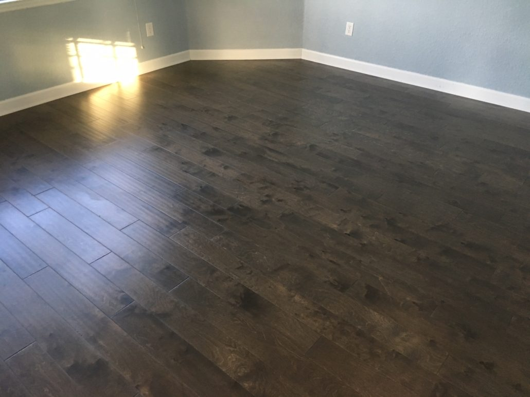 Engineered Birch wood flooring
