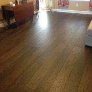 Domestic hickory hardwood flooring