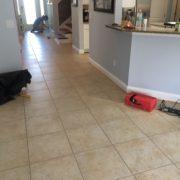 Installing handscraped hickory flooring