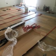 Wire brushed oak flooring archives dans floor store installing white oak flooring with flooring straps ppazfo