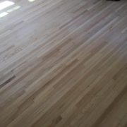 Sanded red oak plank floors - Ortega