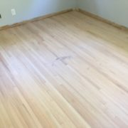 Sanding red oak plank floors - Ortega
